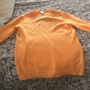 J crew cashmere sweater medium